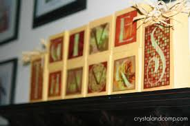 fall craft ideas thanksgiving wooden blocks with free printable