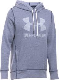 armour sweater armour womens favorite fleece sportstyle hoodie