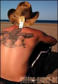 cowboy western tattoo design photos pictures and sketches