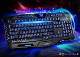 Lighted Keyboards For Computers Picture More Detailed Hk M200 Gaming Keyboard Tri Color Backlit Keyboard 19 Keys No