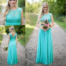 wedding dresses for of honor turquoise bridesmaid dresses 2016 cheap crew neck sequined