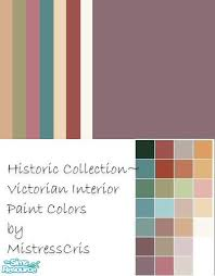 historic paint colors for victorian interior colors interior