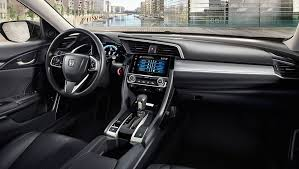 inside of a honda civic 2017 honda civic sedan