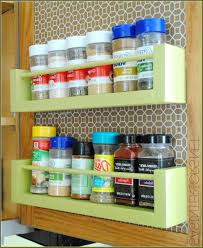 amazing cabinet door spice rack wire 42 cabinet door mounted wire