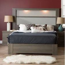 lighted king size headboard particle board contemporary bed headboards footboards ebay