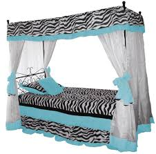 bedroom design astounding canopy bed with zebra design and astounding canopy bed with zebra design and curtains