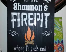 Horseshoe Fire Pit by Custom Fire Pits Etsy