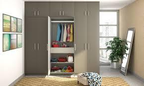 Wooden Wardrobe Price In Bangalore Buy Veronica Wardrobe With Loft Online In India Livspace Com