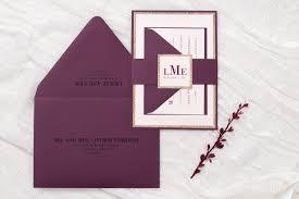 burgundy wedding invitations blush shimmer gold glitter and wine burgundy wedding