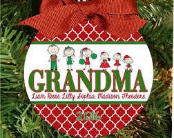 Grandparent Ornaments Personalized Mimi Ornament
