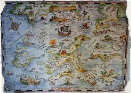 Pirates Map Whilst Over In Minecraft U2026 Building A Pirate World Headburro Antfarm