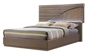 north zebra wood gold line bedroom set by global furniture