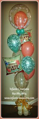 balloon bouquet houston colorful playful birthday bouquet for that special someone