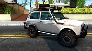 lada jeep 2016 lada niva 4x4 off road for gta san andreas