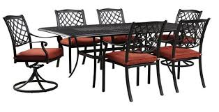 Patio Table And 6 Chairs Tanglevale Patio Table 6 Chairs