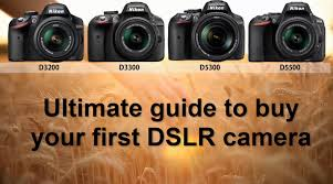 the ultimate guide for what dslr to buy for beginners