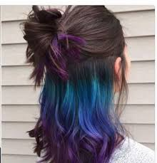 25 best ideas about highlights underneath on pinterest best 25 purple peekaboo hair ideas on pinterest purple peekaboo