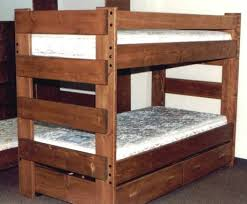 Wood Bunk Bed Plans by Bunk Bed Plans 6307