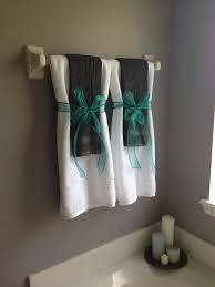 bathroom towel display ideas 1000 ideas about bathroom towel display on turquoise