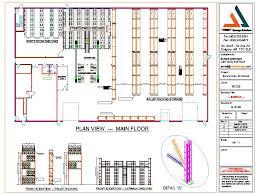 factory layout design autocad auto cad drawings design layout trimet