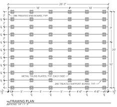 deck plans with dek block pier system imgur