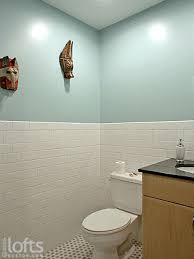 tiled wall bathroom awesome this bathroom features an intense