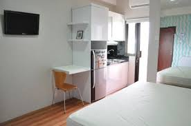studio room buncit jakarta apartments for rent sale