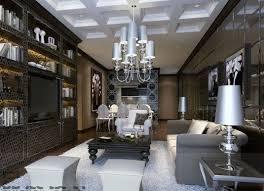 Best Art Deco Interiors Images On Pinterest Architecture Art - New modern living room design