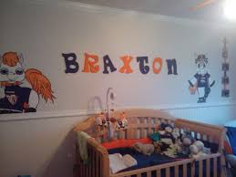 fans for baby nursery start em young broncos fans denver broncos baby fun