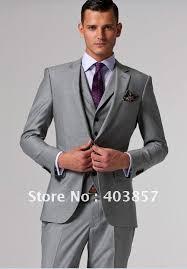 light gray suits for sale 2014 sale new arrivals 3piece jacket pents vest groom suit