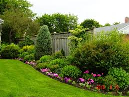 Steep Hill Backyard Ideas Landscape Design Ideas For Side Of House Hillside Landscaping On