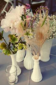 Feather And Flower Centerpieces by 279 Best Centerpiece Images On Pinterest Flowers Flower