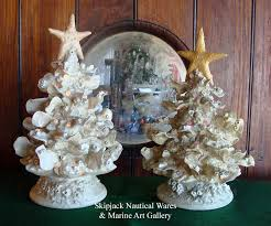 ceramic lighted christmas tree by kevin collins coastal christmas