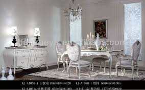 Silver Dining Table And Chairs Royal Luxury Fabric Silver White Dining Room Table And Chairs Kj