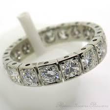 bague mariage or blanc bague mariage vintage alliance diamants or blanc 1883 bijoux