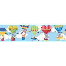 Wallpaper Borders For Kids York Wallcoverings Waverly Kids Ooh La La Wallpaper Border