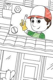 handy manny tools colouring disney junior uk