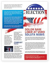 10 best images of voting flyer templates free election campaign