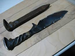 100 homemade kitchen knives green river and old hickory