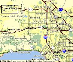 los angeles suburbs map untitled document