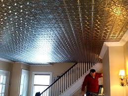 Tin Ceiling Panels by Installation Guides Tin Ceiling Xpress Tin Ceiling Tiles