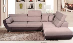artemis fabric sectional sofa w sleeper in sand grey free