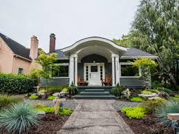 prairie style home decorating curb appeal tips for craftsman style homes hgtv
