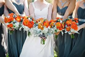 fall wedding orange and turquoise fall vintage wedding soirée the magazine