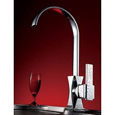 Kitchen Faucet Modern Solid Brass Modern Kitchen Faucet Chrome Finish