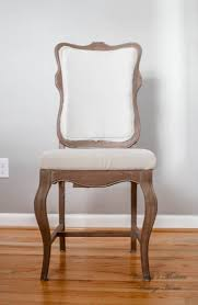 Linen Dining Chair Diy Linen Dining Room Chairs For 20 A Piece