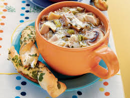 chicken and rice soup with mushrooms recipe southern living