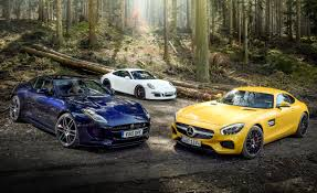 porsche 911 carrera gts 2016 jaguar f type r coupe vs 2016 mercedes amg gt s 2015