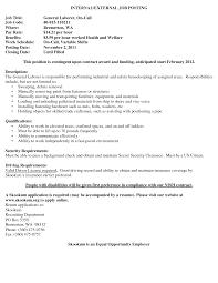 general laborer resume samples cover letter tips for general