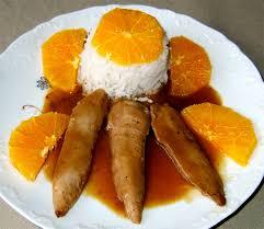 canard cuisine aiguillettes de canard à l orange ma cuisine santé
